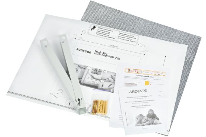 Керамический обогреватель Ardesto HCP-400BK