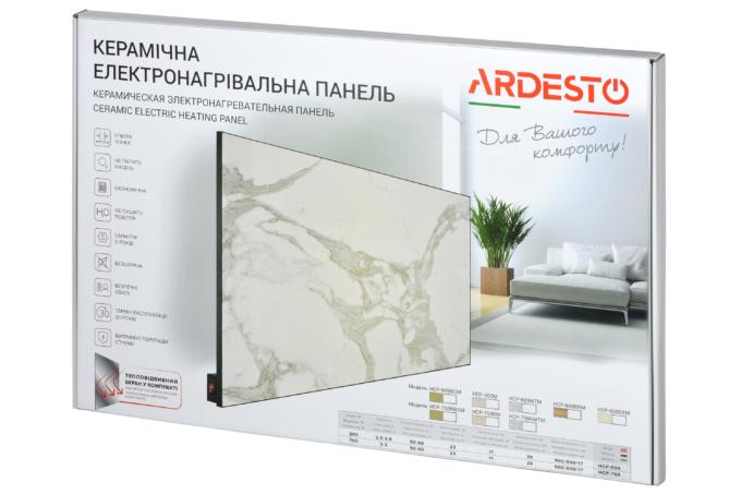 Керамический обогреватель Ardesto HCP-750RWTM