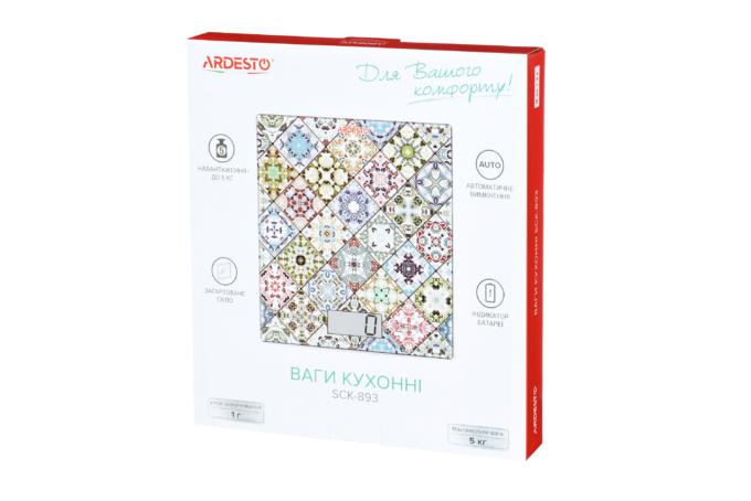 Ваги кухонні Ardesto SCK-893