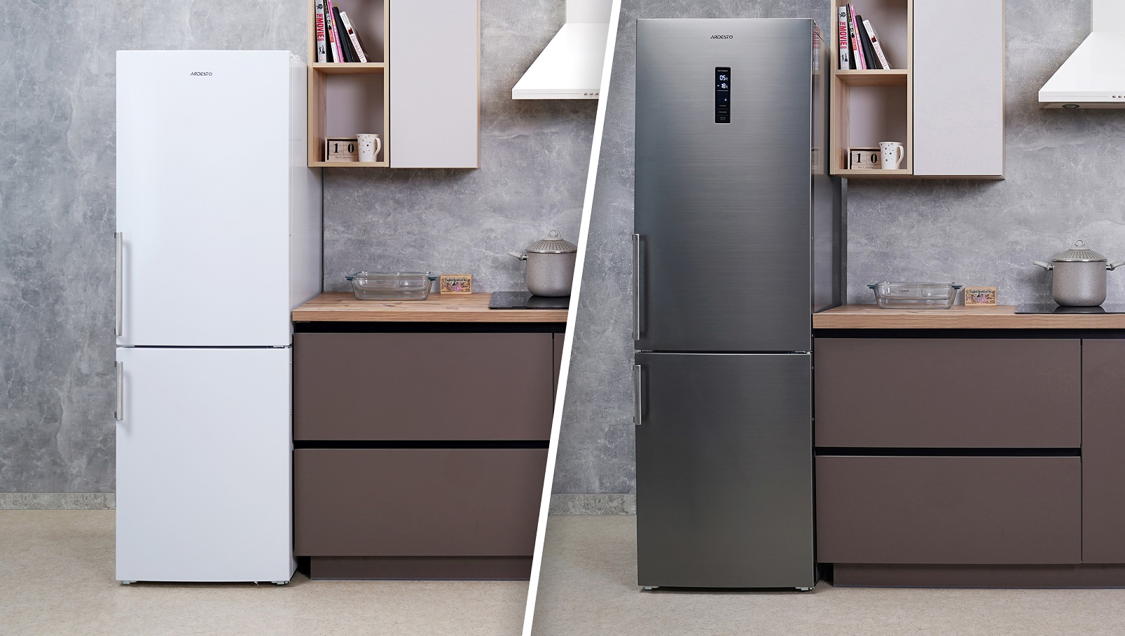 New Ardesto refrigerators with No Frost Cooling