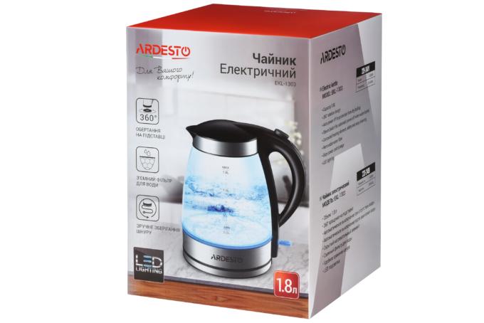 Електрочайник Ardesto EKL-1303