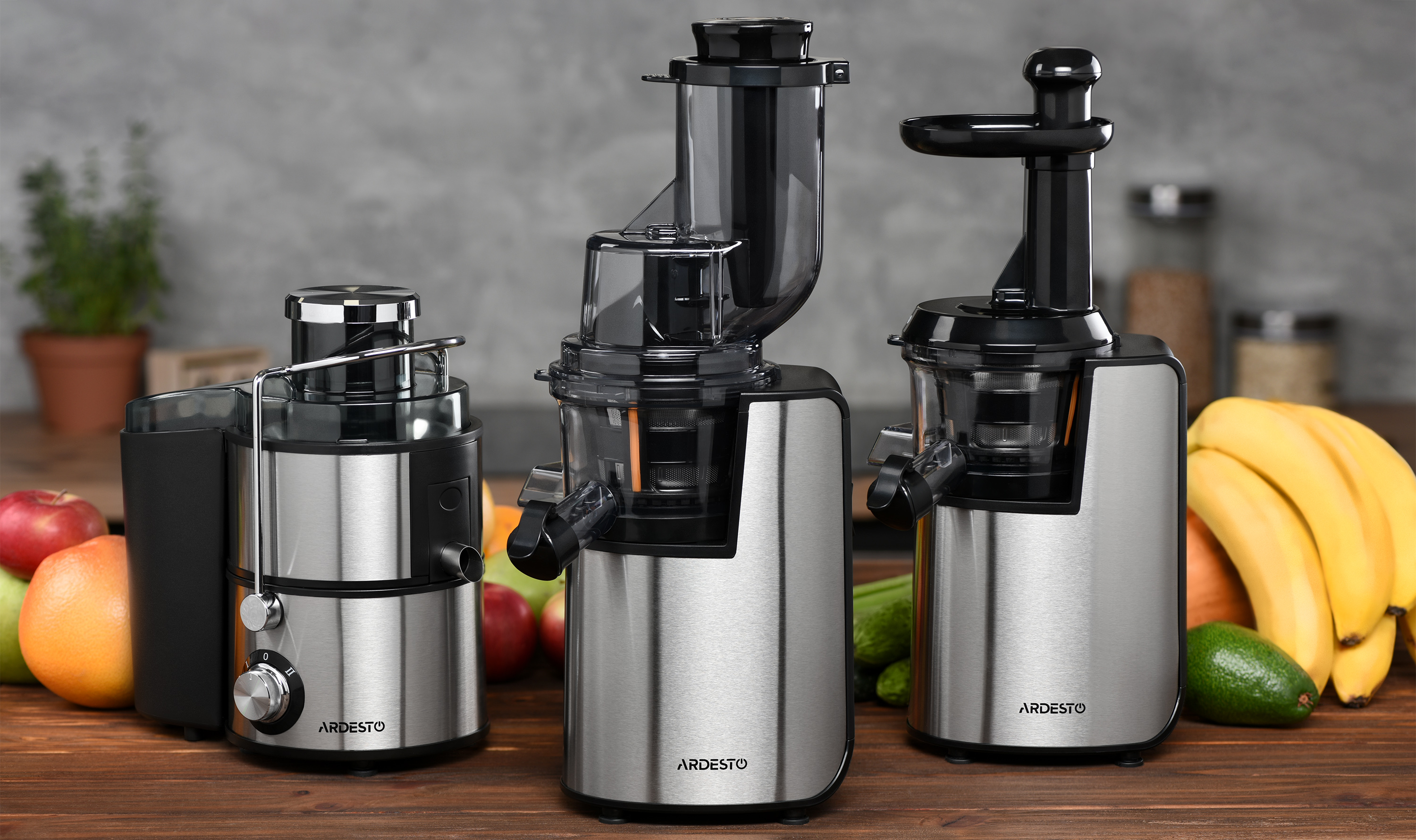 Juicers Ardesto – vitamins and nutrients charge