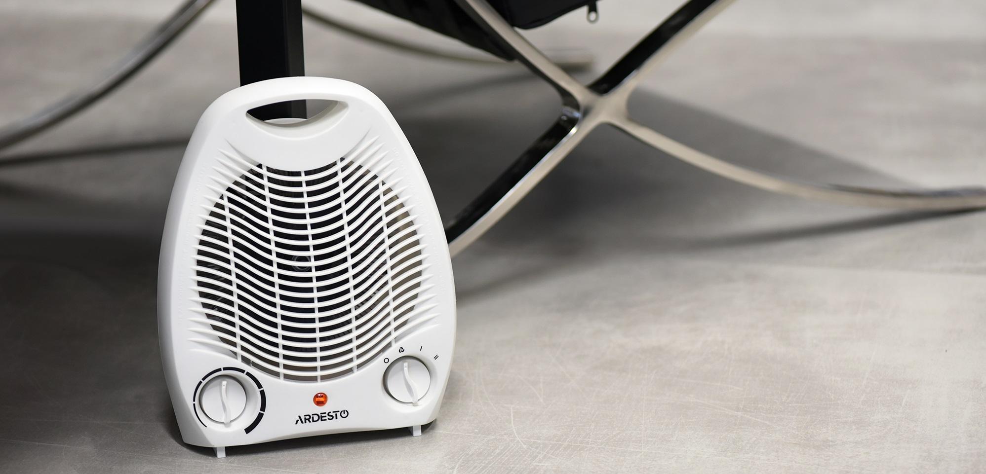 Компактний та потужний тепловентилятор Ardesto FHJ-2000W