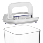 Контейнер для сипучих продуктів Ardesto Fresh вакуумний AR1307WP (0.7 л)