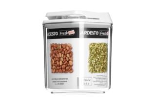 Контейнер для сипучих продуктів Ardesto Fresh вакуумний AR1309WP (0.9 л)