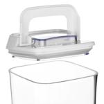 Контейнер для сипучих продуктів Ardesto Fresh вакуумний AR1317WP (1.7 л)