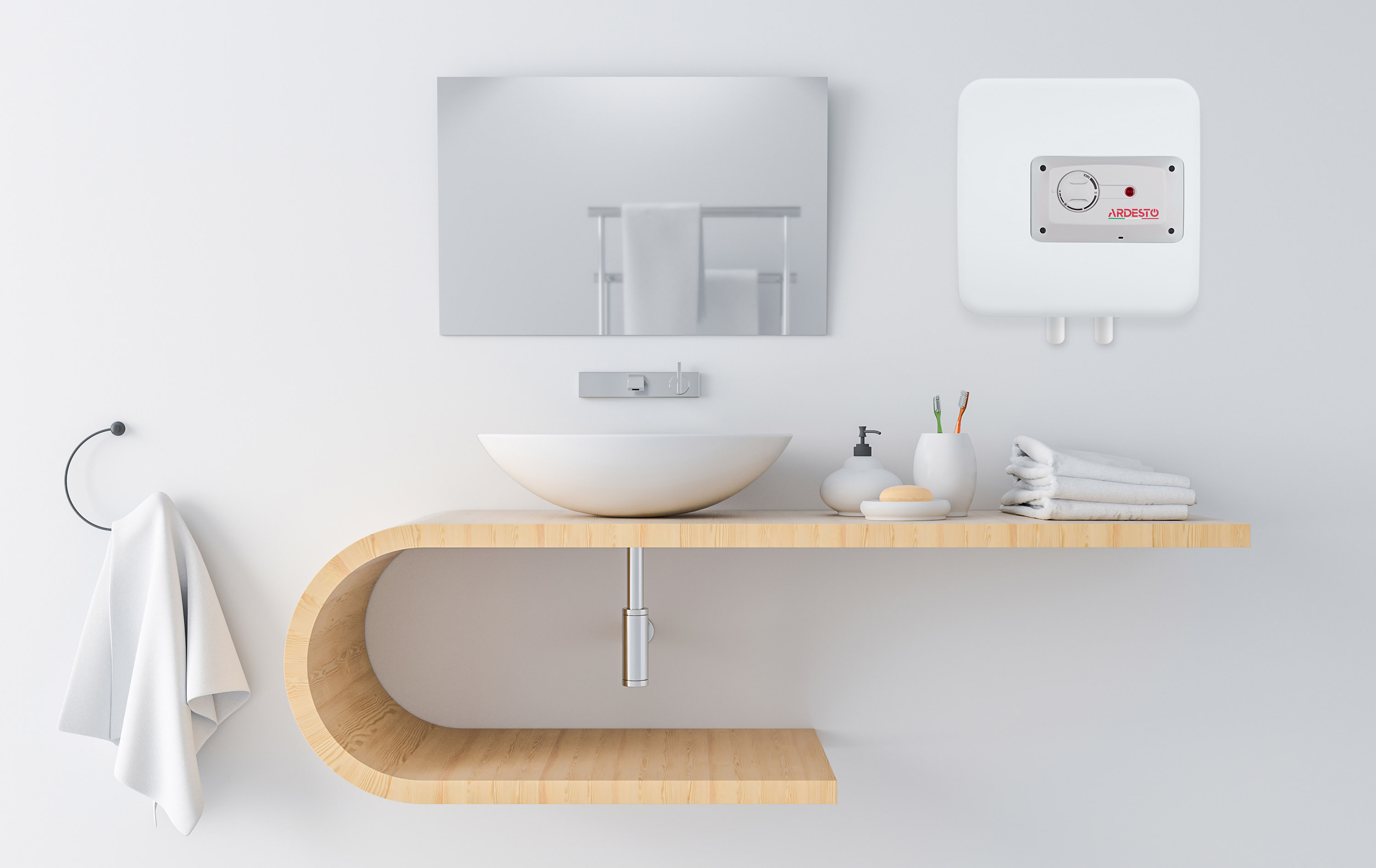 Ardesto presents compact water heaters of UMWMI and OMWMI series
