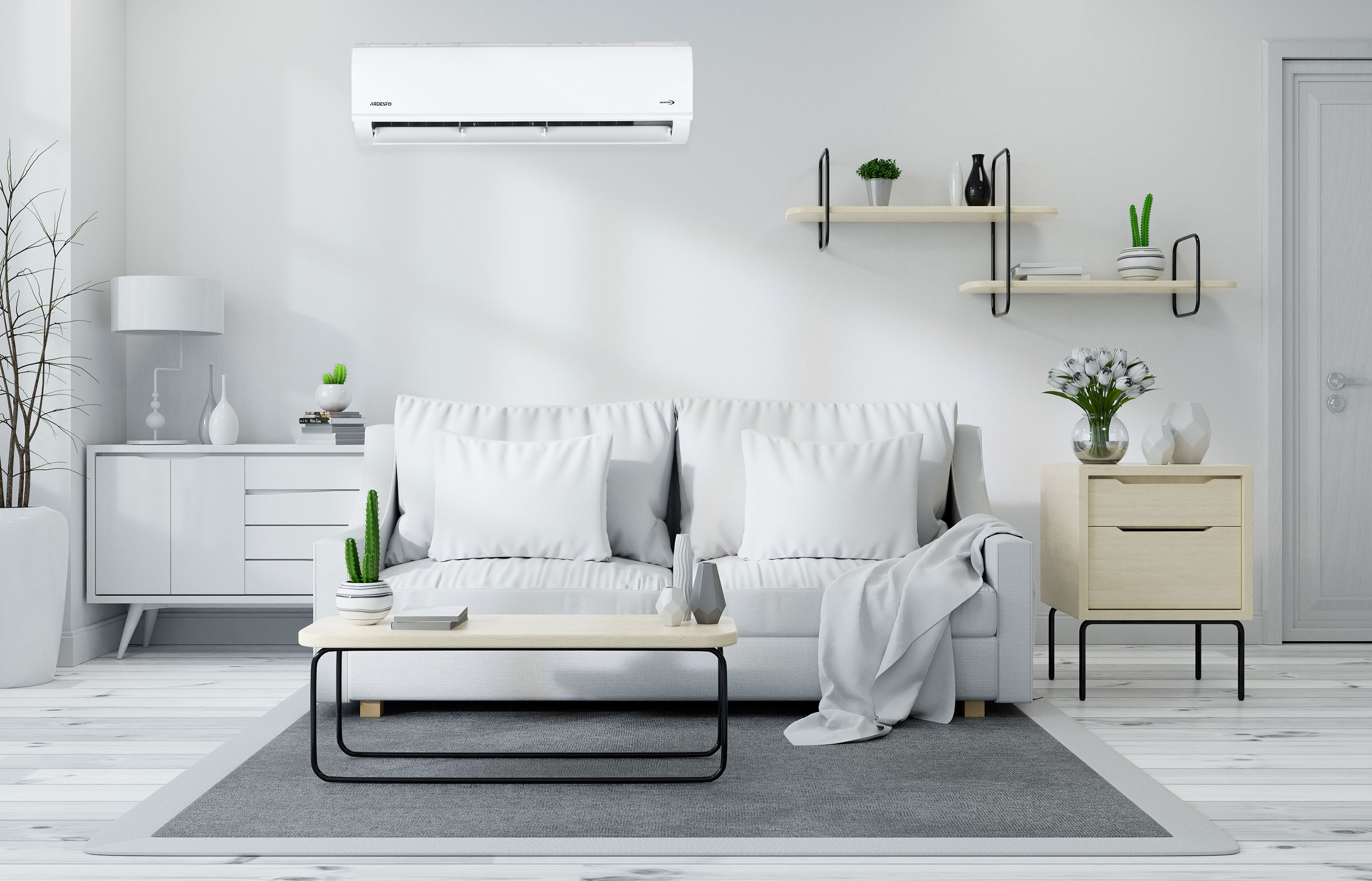 Quick cooling with air conditioners Ardesto