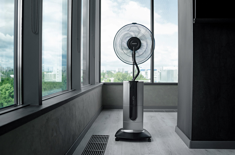 Нові вентилятори Ardesto – іонізація та зволоження повітря