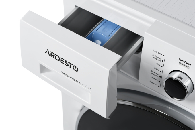 Пральна машина Ardesto WMS-DD6211W