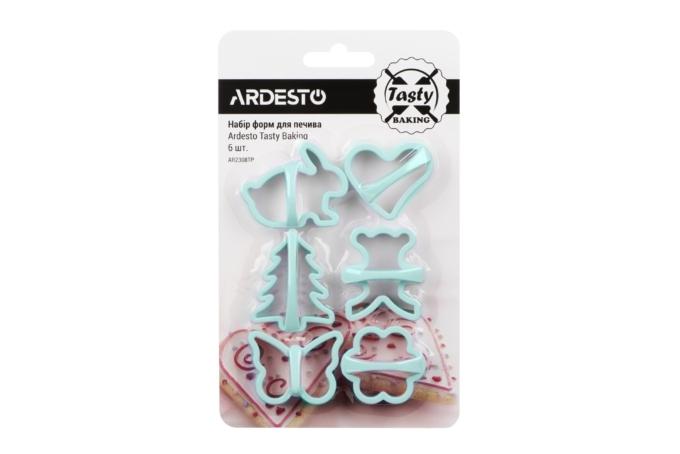 Набор форм для выпечки печенья Ardesto Tasty baking AR2308TP