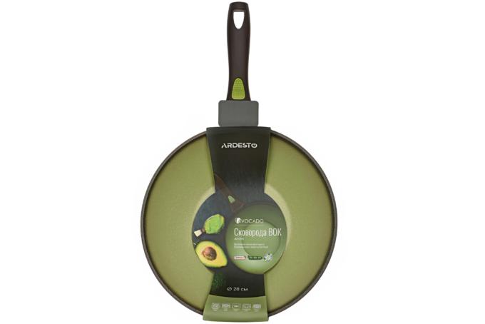 Сковорода WOK Ardesto Avocado AR2528WA (28 см)