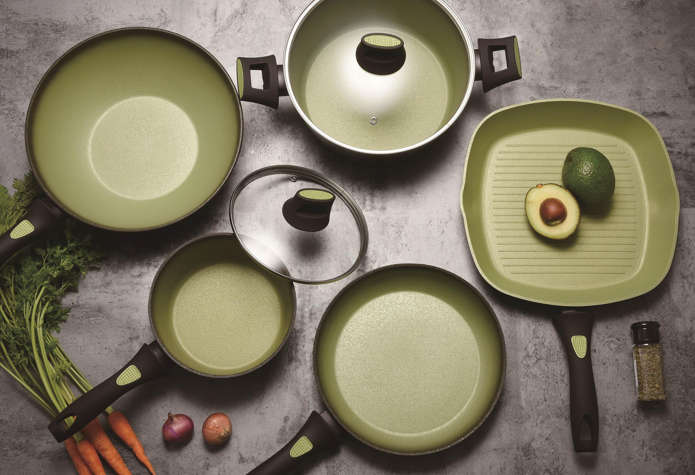 Нова серія наплитного посуду з унікальним дизайном – Ardesto Avocado