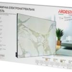 Керамічний обігрівач Ardesto HCP-550RBGM