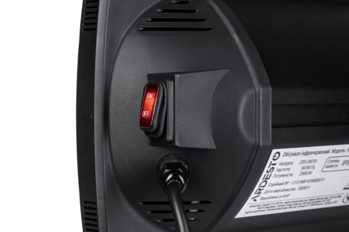 Infrared Heater Ardesto IH-2500-CBN1B