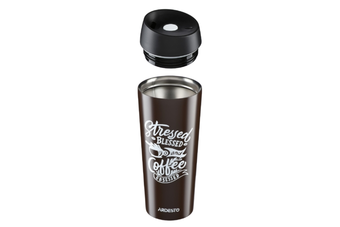 Термочашка Ardesto Coffee Time 450 мл AR2645DBB