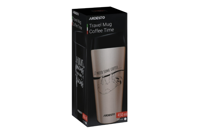 Thermal Mug Ardesto Coffee Time 450 ml AR2645DMB