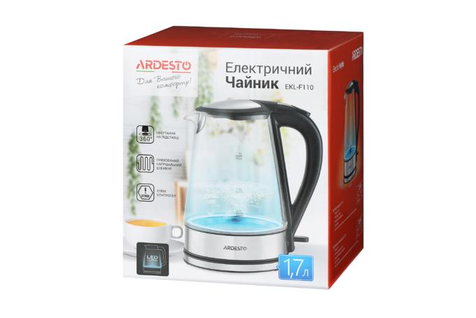 Electric kettle Ardesto EKL-F110