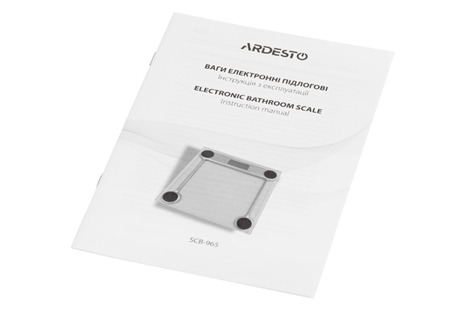 Ваги підлогові Ardesto SCB-965BL
