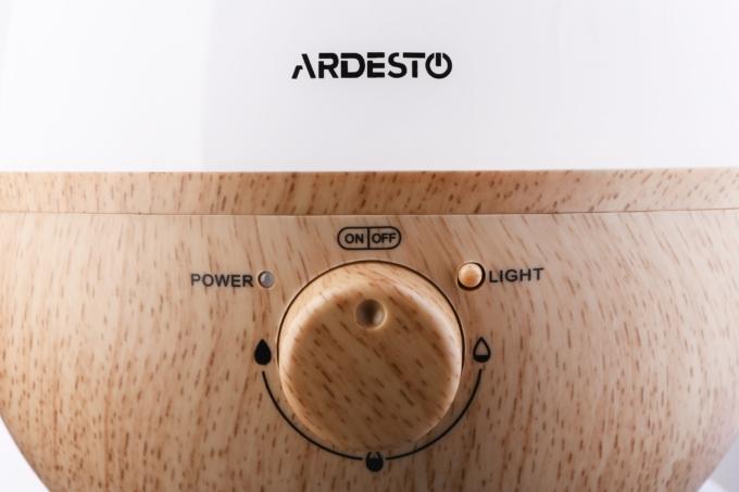 Зволожувач повітря Ardesto USHBFX1-2300-BRIGHT-WOOD