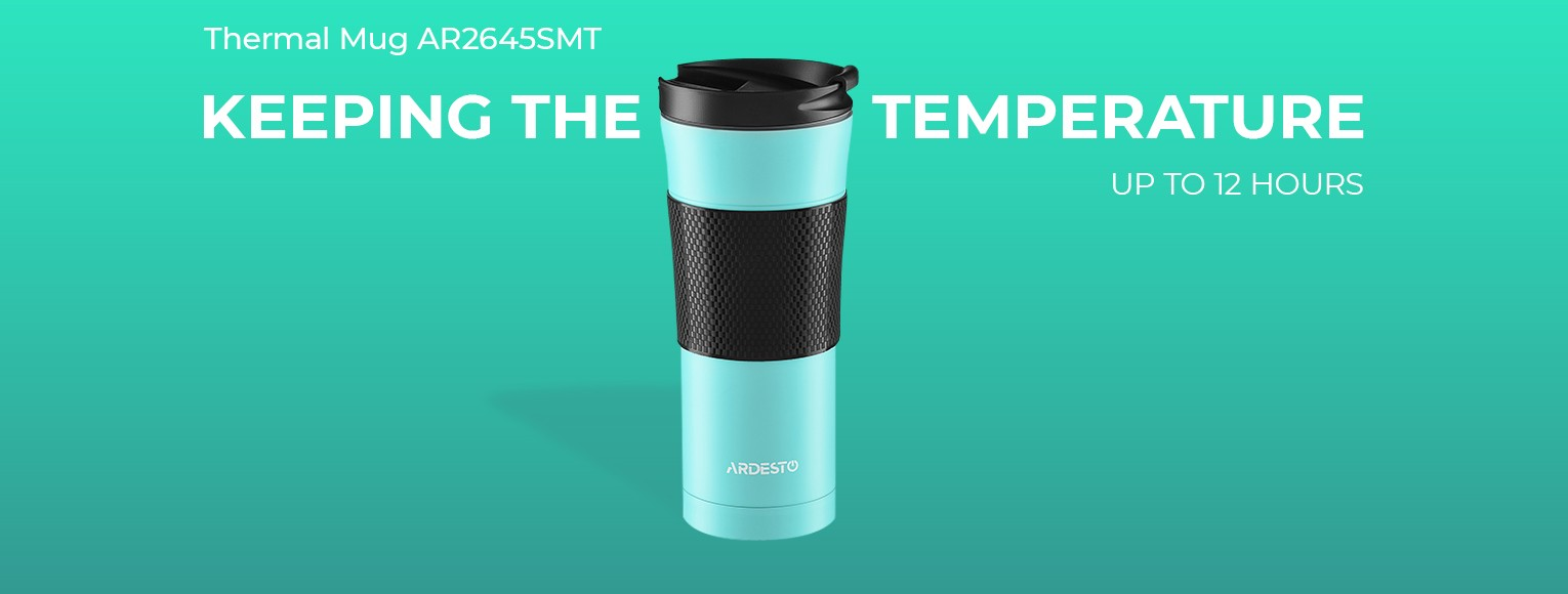 Thermal Mug Ardesto To Go 450 ml AR2645SMT