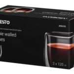 Набор чашек Ardesto с двойными стенками для американо AR2612G