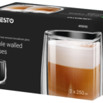 Cups set Ardesto with double walls AR2625G