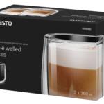 Набір чашок Ardesto з подвійними стінками AR2636G