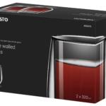 Набір чашок Ardesto з подвійними стінками AR2637G