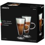 Набор чашек Ardesto с двойными стенками AR2623GH