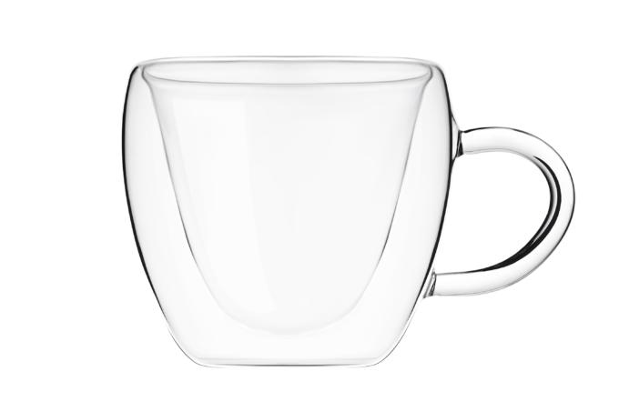 Набор чашек Ardesto с двойными стенками AR2625GHL