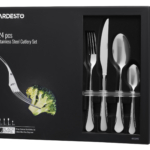 Cutlery set Ardesto Black Mars York AR0724YS