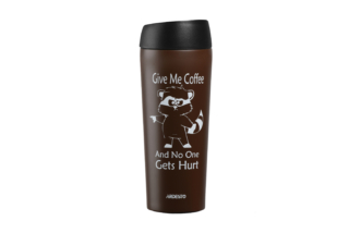 Thermal Mug Ardesto Coffee time (Raccoon) 450 ml AR2645DML