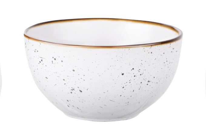 Salad Bowl Ardesto Bagheria, 14 cm, Bright white