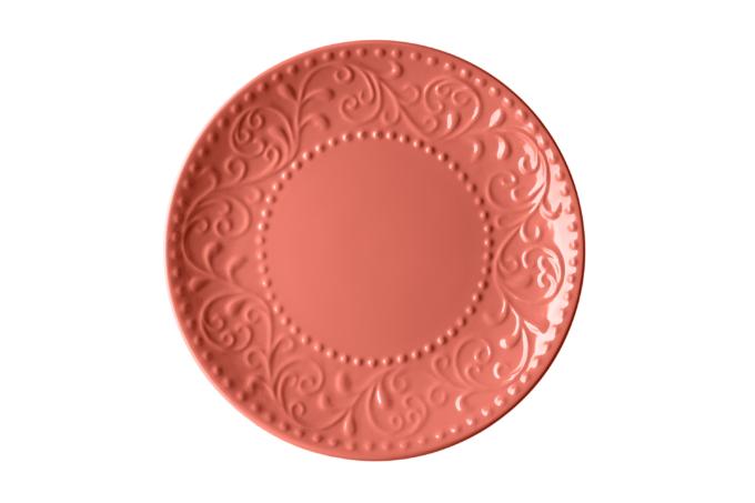 Тарілка десертна Ardesto Olbia, 19 см, Deep orange