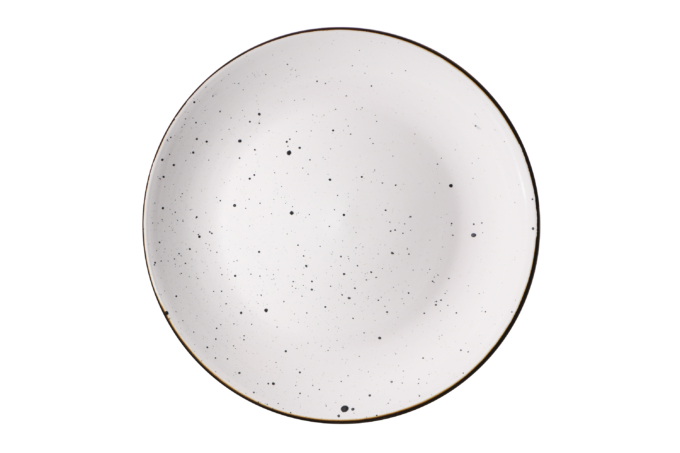 Тарелка десертная Ardesto Bagheria, 19 см, Bright white