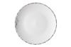 Тарілка десертна Ardesto Lucca, 19 см, Winter white