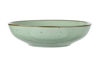 Soup plate Ardesto Bagheria, 20 cm, Pastel green