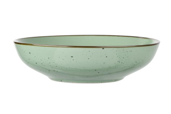 Тарелка суповая Ardesto Bagheria, 20 см, Pastel green