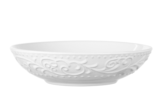 Тарелка суповая Ardesto Olbia, 20 см, White