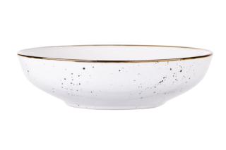 Тарелка суповая Ardesto Bagheria, 20 см, Bright white