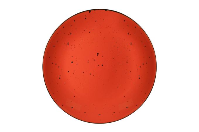 Dinner plate Ardesto Bagheria, 26 cm, Warm apricot
