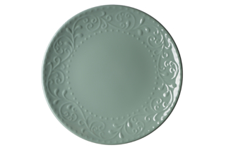 Dinner plate Ardesto Olbia, 26 cm, Green Bay