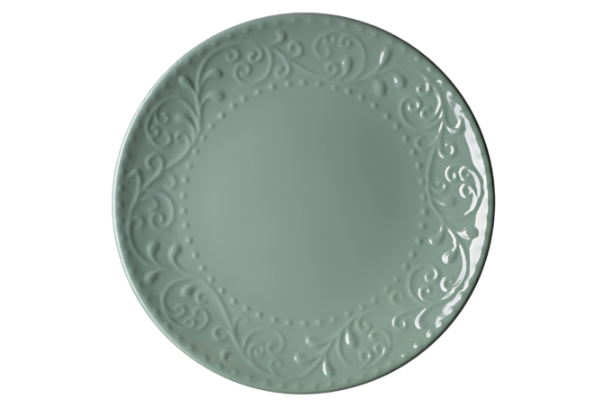 Dinner plate Ardesto Olbia, 26 cm, Green Bay