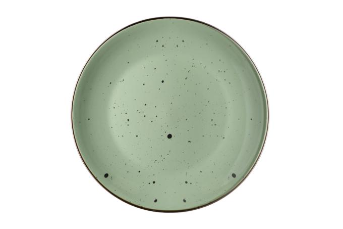 Тарілка обідня Ardesto Bagheria, 26 см, Pastel green