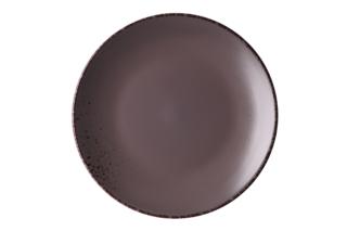 Dinner plate Ardesto Lucca, 26 cm, Grey brown