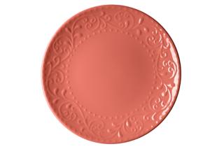Dinner plate Ardesto Olbia, 26 cm, Deep orange