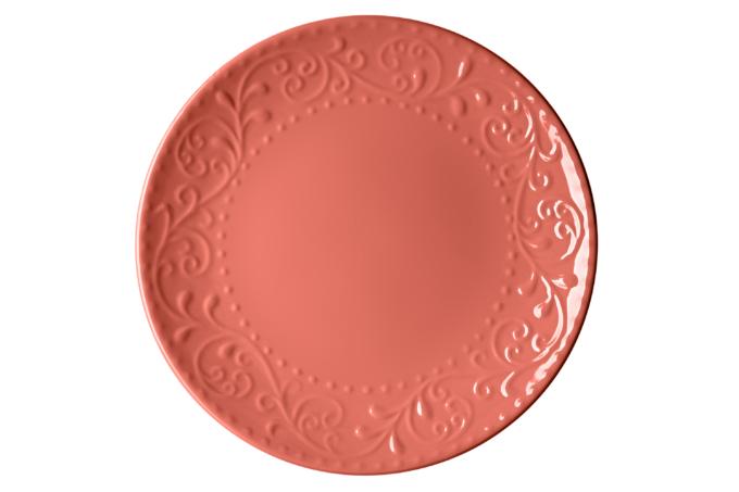 Тарілка обідня Ardesto Olbia, 26 см, Deep orange