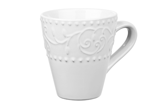 Чашка Ardesto Olbia, 360 мл, White AR2936WC