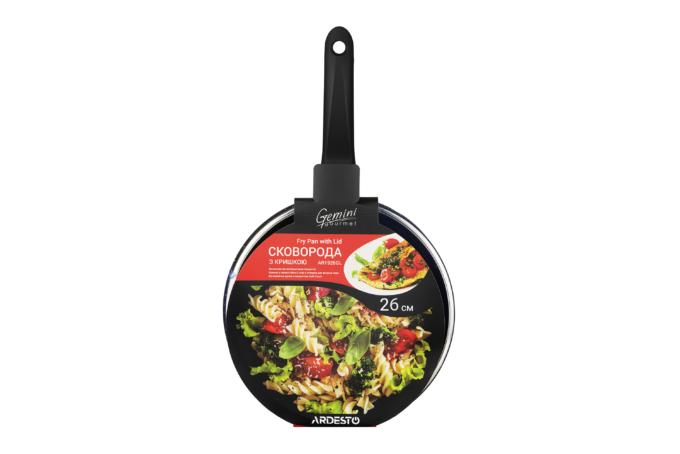 Сковорода Ardesto Gemini Gourmet с крышкой AR1926GL